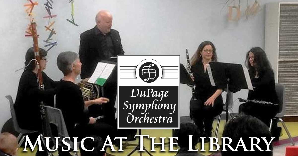 DuPage Symphony Orchestra Chamber Music at the Library