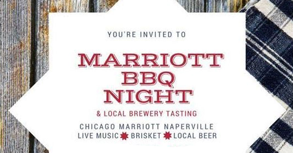 Marriott BBQ Night